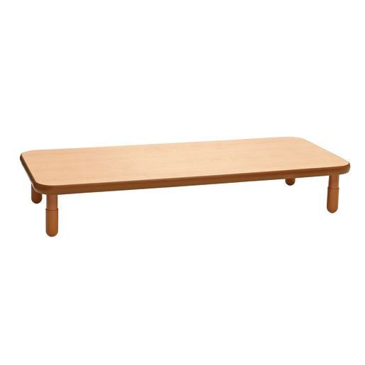 "30"" x 72"" Rectangle BaseLine® Table, 14""H - Natural Cocoa"