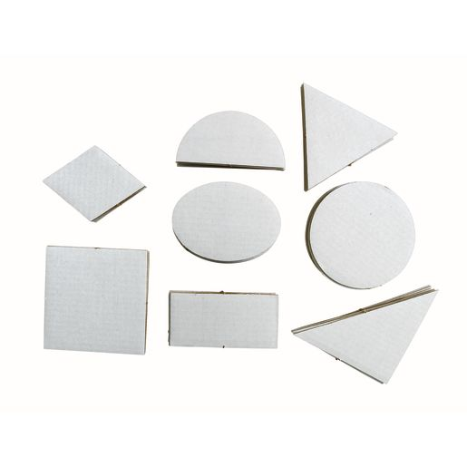 Geometric Collage Board Shapes Set of 56_2