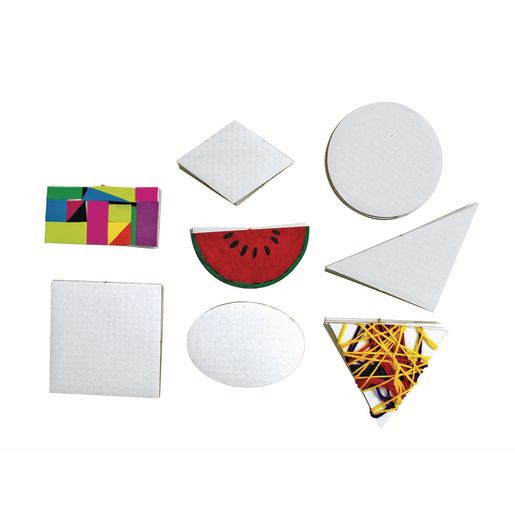 Geometric Collage Board Shapes Set of 56_3