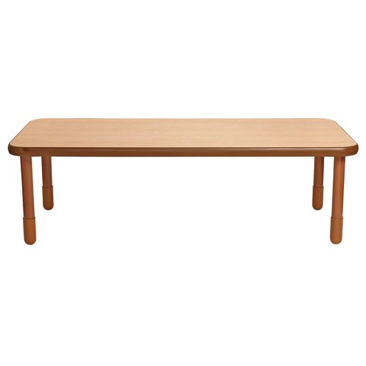 """30"""" x 72"""" Rectangle BaseLine® Table, 22""""H - Natural Cocoa"""