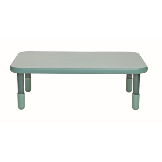 """30"""" x 48"""" Rectangle BaseLine® Table, 16""""H - Teal Green"""