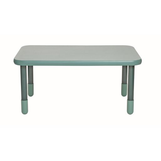 "30"" x 48"" Rectangle BaseLine® Table, 22""H - Teal Green"