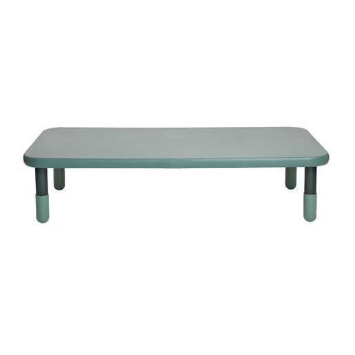 """30"""" x 60"""" Rectangle BaseLine® Table, 12""""H - Teal Green"""