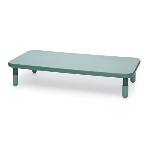 """30"""" x 60"""" Rectangle BaseLine® Table, 16""""H - Teal Green"""