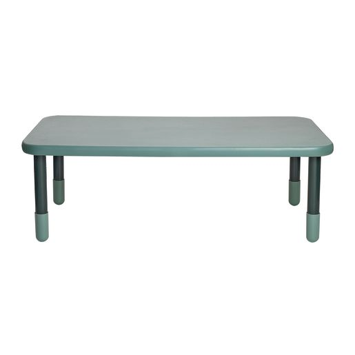"""30"""" x 60"""" Rectangle BaseLine® Table, 20""""H - Teal Green"""