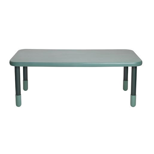 """30"""" x 60"""" Rectangle BaseLine® Table, 22""""H - Teal Green"""