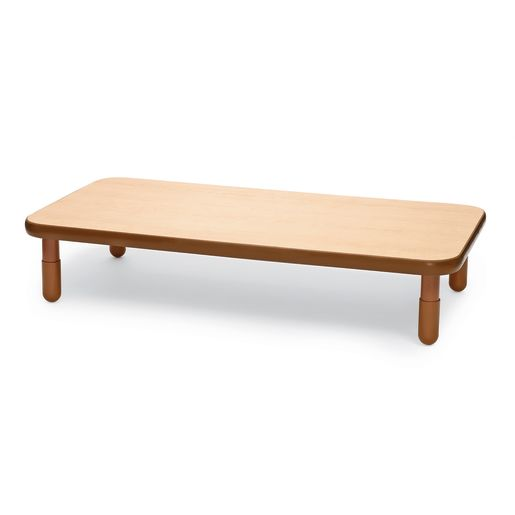 "30"" x 60"" Rectangle BaseLine® Table, 12""H - Natural Cocoa"