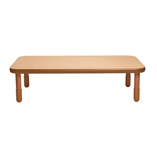"""30"""" x 60"""" Rectangle BaseLine® Table, 16""""H - Natural Cocoa"""