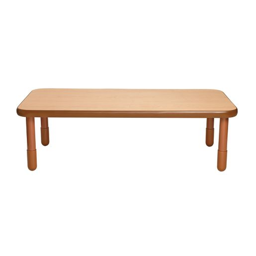 """30"""" x 60"""" Rectangle BaseLine® Table, 18""""H - Natural Cocoa"""