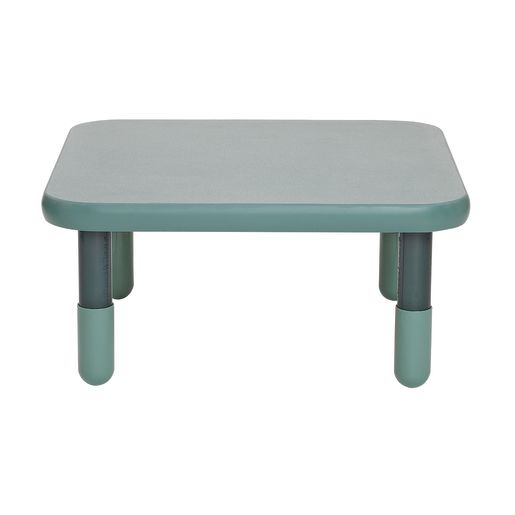 """30"""" Square BaseLine® Table, 12""""H - Teal Green"""