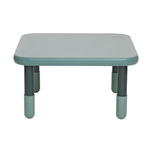 """30"""" Square BaseLine® Table, 16""""H - Teal Green"""