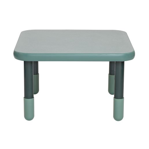 "30"" Square BaseLine® Table, 18""H - Teal Green"