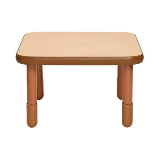 "30"" Square BaseLine® Table, 18""H - Natural Cocoa"
