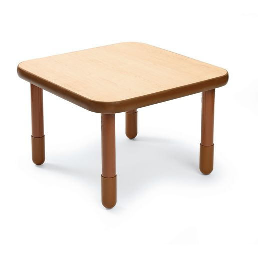 "30"" Square BaseLine® Table, 20""H - Natural Cocoa"