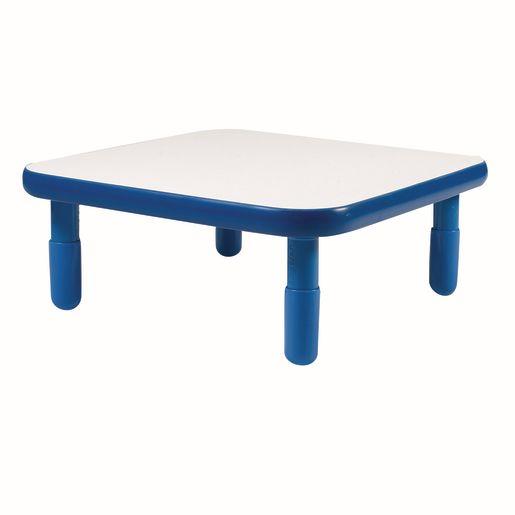 "30"" Square BaseLine® Table, 12""H - Blue"