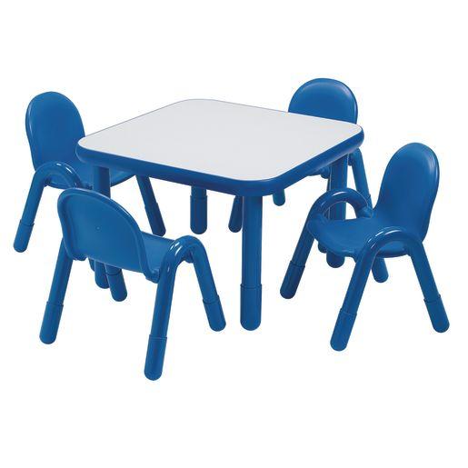 "30"" Square BaseLine® Table, 20""H - Blue"