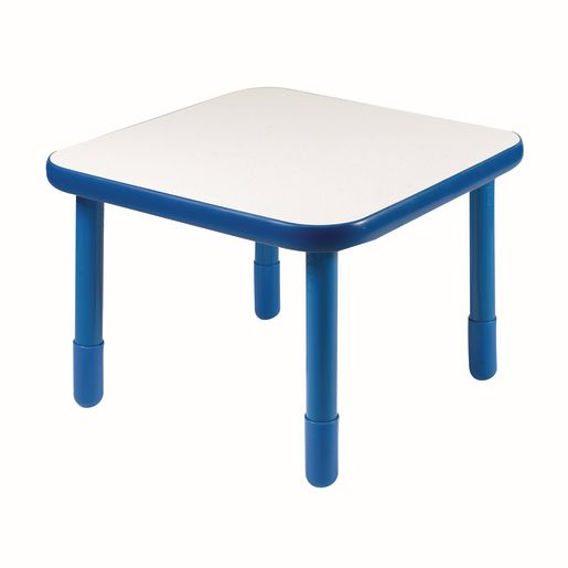 "30"" Square BaseLine® Table, 22""H - Blue"