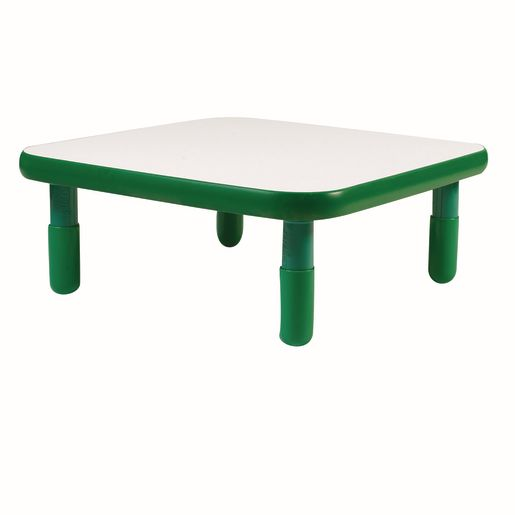 """30"""" Square BaseLine® Table, 14""""H - Green"""