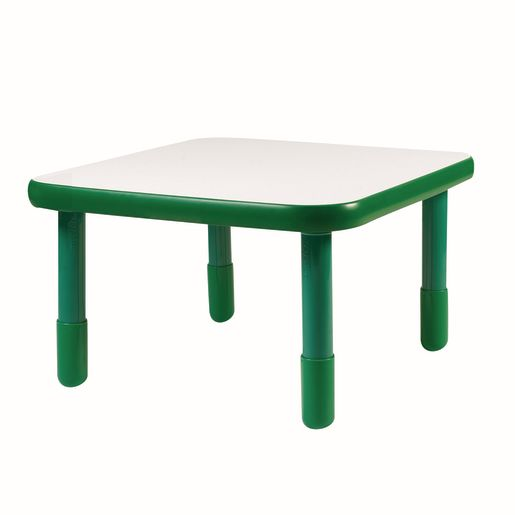 "30"" Square BaseLine® Table, 18""H - Green"