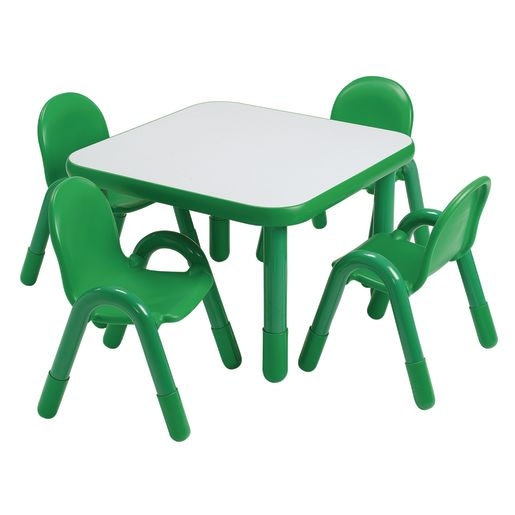 """30"""" Square BaseLine® Table, 20""""H - Green"""