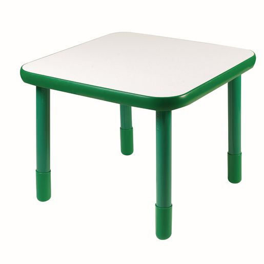 "30"" Square BaseLine® Table, 22""H - Green"