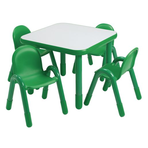 "30"" Square BaseLine® Table, 24""H - Green"