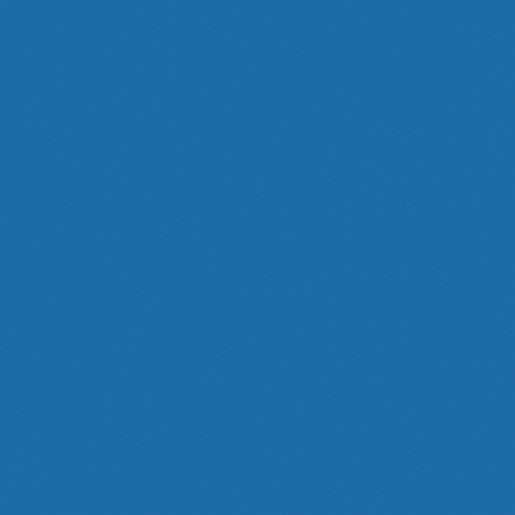 "38"" x 65"" Kidney BaseLine® Table, 16""H - Blue"
