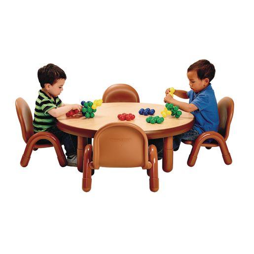 "36"" Round BaseLine® Table, 14"" Leg - Natural Cocoa"
