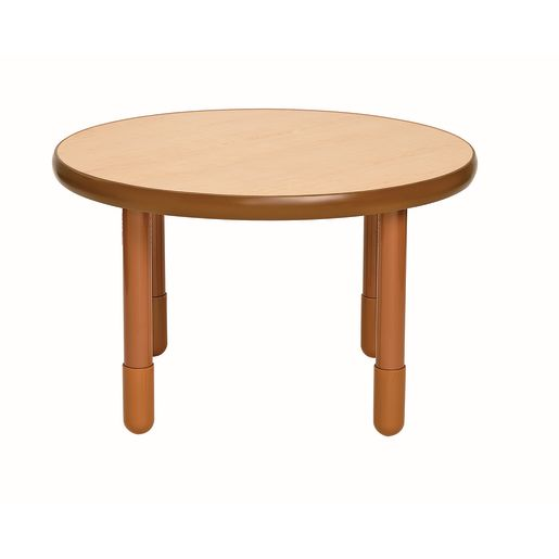 "36"" Round BaseLine® Table, 24"" Leg - Natural Cocoa"
