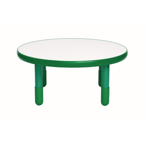 "36"" Round BaseLine® Table, 18"" Leg - Green"
