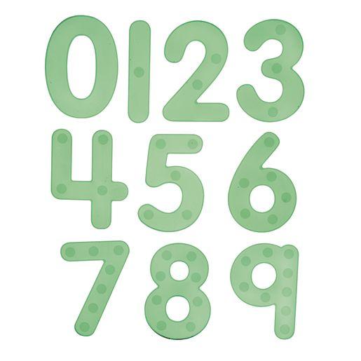 Image of Silishape Dot Numbers 0-9