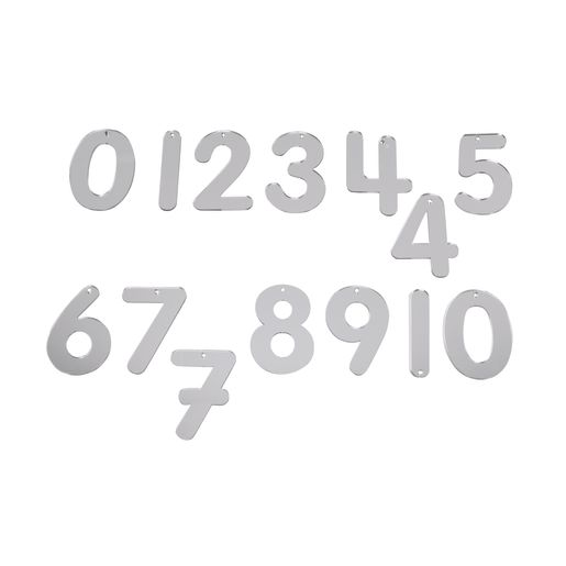 Image of Mirror Numbers 0-10, 14 Pieces