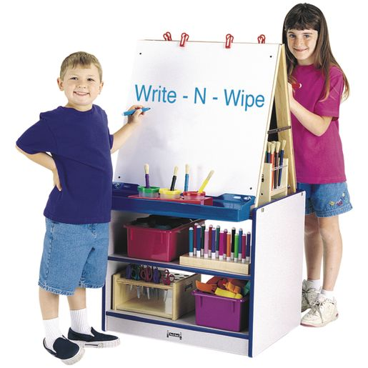 Rainbow Accents® 2-Station Easel - Purple
