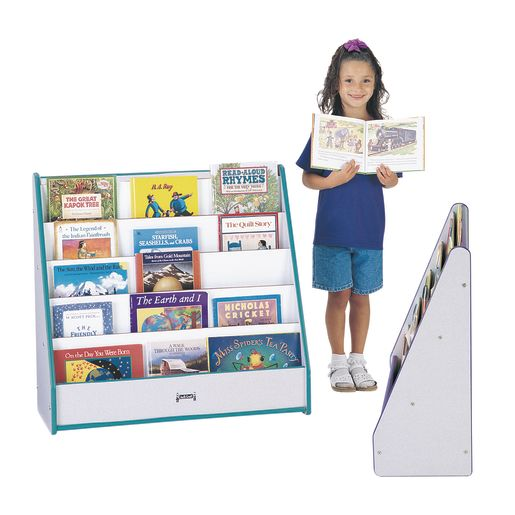 Rainbow Accents® Single-Sided Pick-a-Book Stand - Red