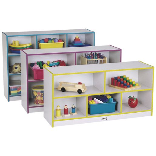 Rainbow Accents® Mobile Shelving, School Age - Green