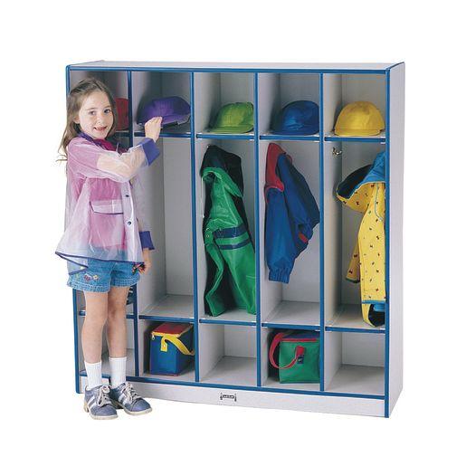 Rainbow Accents® 5-Section Coat Locker - Purple