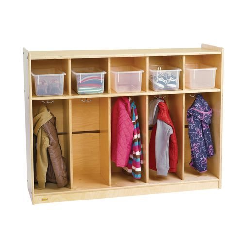 Image of Value Line Birch 5-Section Toddler Locker