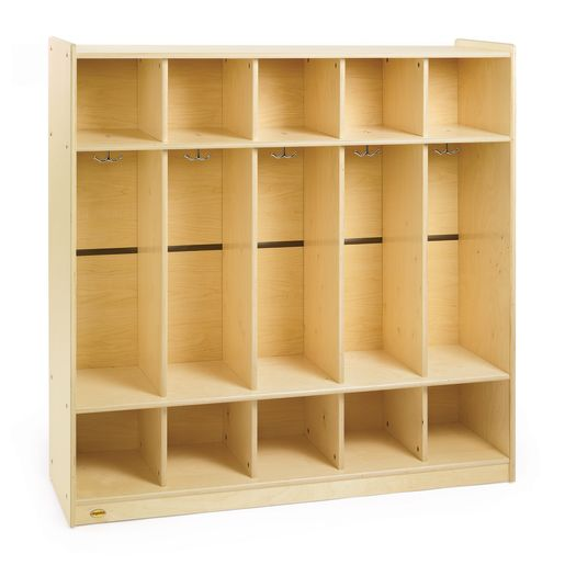 Image of Angeles Value Line Birch 5-Section Preschool Locker
