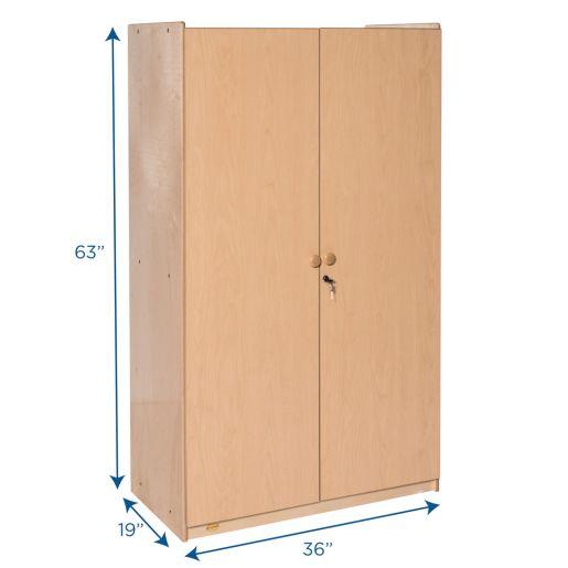 Angeles Value Line™ Birch Teacher's Storage