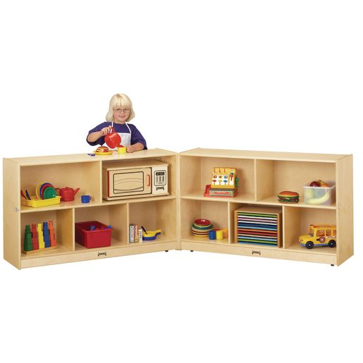 Mobile Fold-N-Lock Storage - Preschool