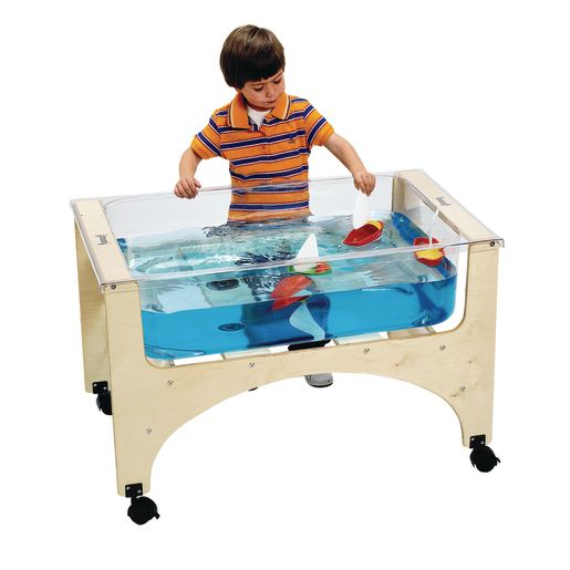 "24-1/2""H Regular Height See-Thru Sand-n-Water Table"