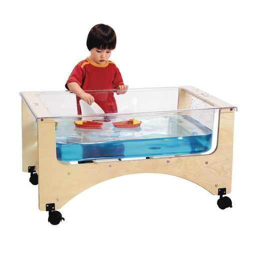"See-Thru Sand-n-Water Table 20"" Toddler Height"