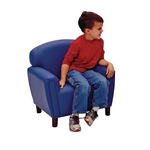 Brand New World Preschool Enviro-Child Upholstery Chair - Deep Red