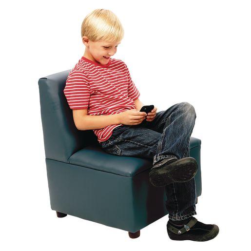 "Modern Casual Enviro-Child Chair14"" Seat Height - Blue"