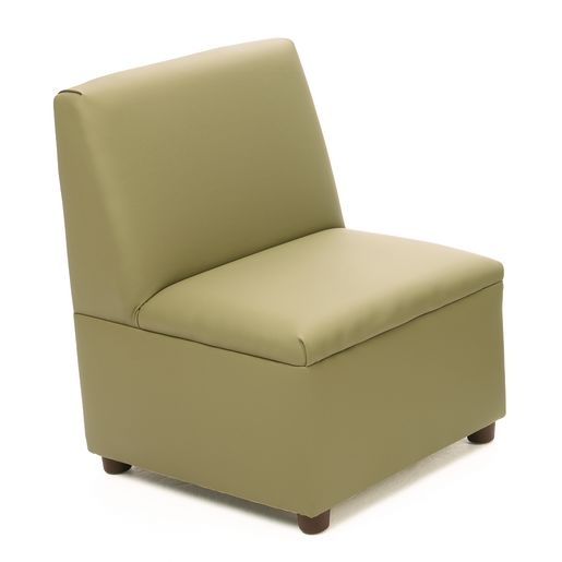 "Modern Casual Enviro-Child Chair 14""H Seat Height - Sage"