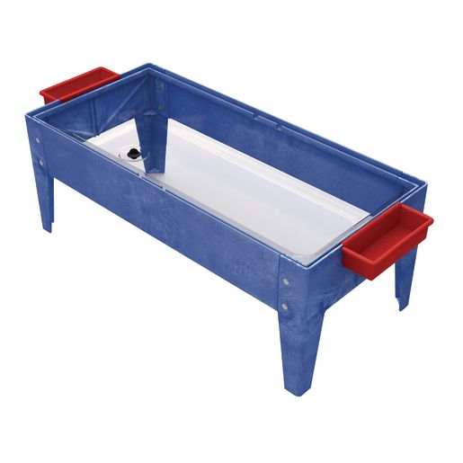 """18"""" Toddler Sand and Water Activity Center with Clear Liner - Blue"""