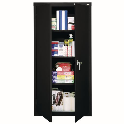 Art Supply Storage Closet - Black