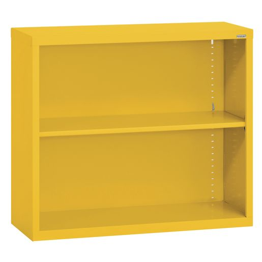 Elite Welded Bookcase - 1 Shelf - Yellow