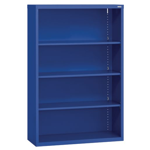 Elite Welded Bookcase - 3 Shelves - Blue
