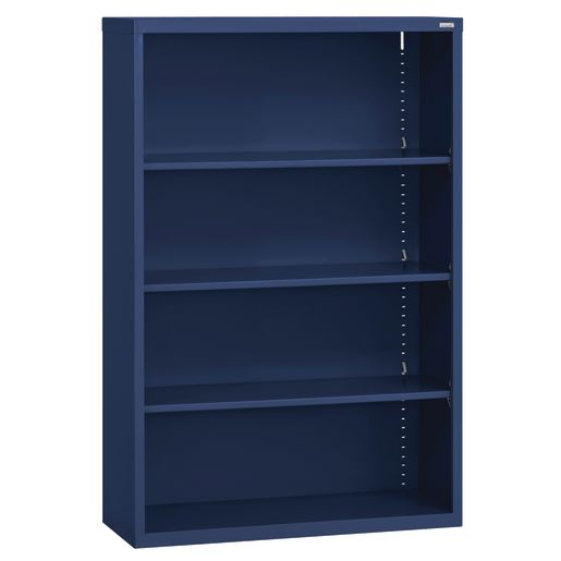 Elite Welded Bookcase - 3 Shelves - Navy